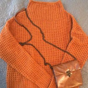 Burnt orange Moral Fiber Sweater